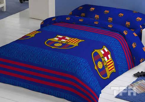 Ropa de cama f tbol club barcelona de tph textil para - Textil para hosteleria ...