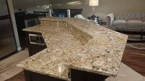 Acabados en m rmol y granito de leon countertops homify for Granito vs marmol