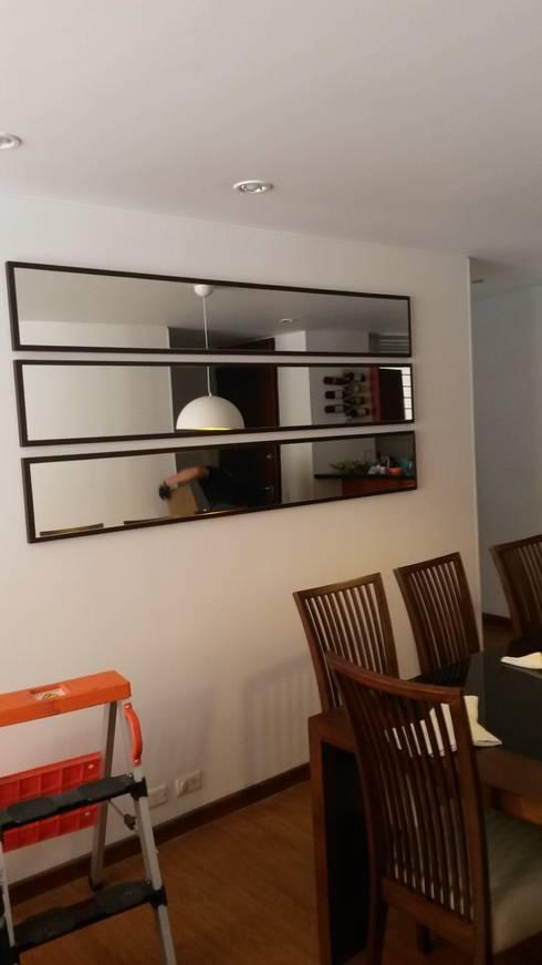 Salle à manger de style  par LABORATO ARQUITECTURA & DISEÑO