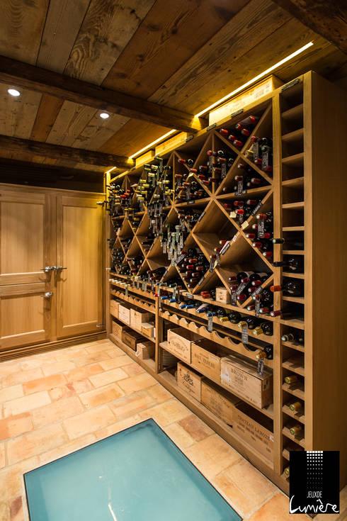 Wine cellar by Jeux de Lumière