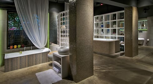 ELAARS POOLS LIFESTYLE SHOWROOM:  Commercial Spaces by P S DESIGN