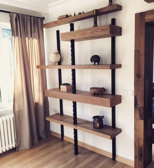StudyoAB – Residential Project: modern tarz Oturma Odası