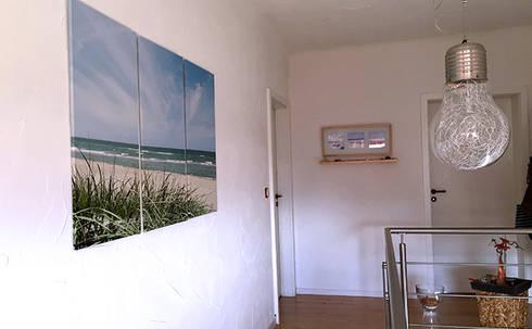 flur und treppenhaus in strandhausflair by fokus raum homify. Black Bedroom Furniture Sets. Home Design Ideas
