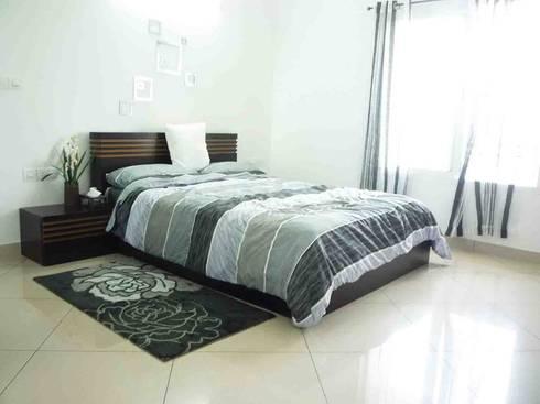 SHOBHA INTERIORS THRISSUR: modern Bedroom by DREAM INFINITE