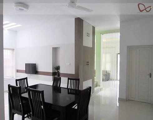 SHOBHA INTERIORS THRISSUR: modern Dining room by DREAM INFINITE