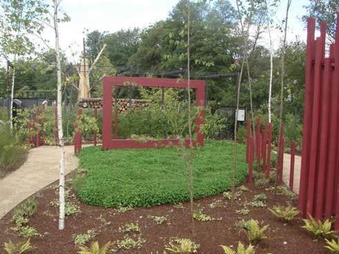 Allariz, beleza natural + beleza construída: Jardins minimalistas por andré nascimento-arquitetura paisagista