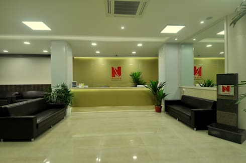 Turnkey Interior Solution for Nidan Diagnostics:  Clinics by ORIGIN ASSOCIATES