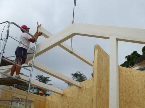 Sopraelevazione in legno di progettolegno srl homify for Sopraelevazione in legno