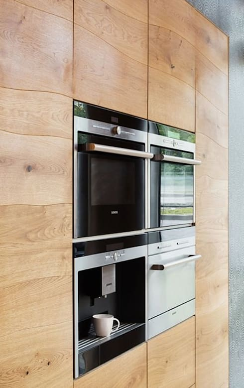 Projekty,  Kuchnia zaprojektowane przez Talium madera y metal