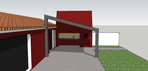 Red Chimney:   por ARCO mais - arquitectura e construção
