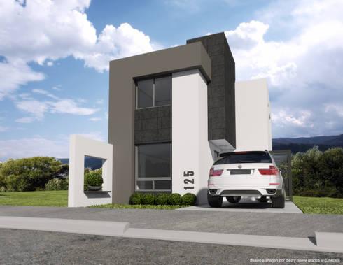 Propuesta 02:  de estilo  por Diez y Nueve Grados Arquitectos