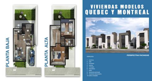 Propuesta del Proyecto:  de estilo  por Diez y Nueve Grados Arquitectos