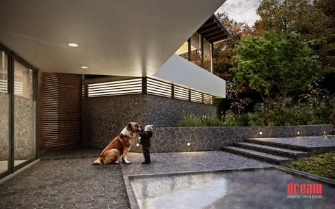 CASA CZN: Casas de estilo rural por Estudio Meraki