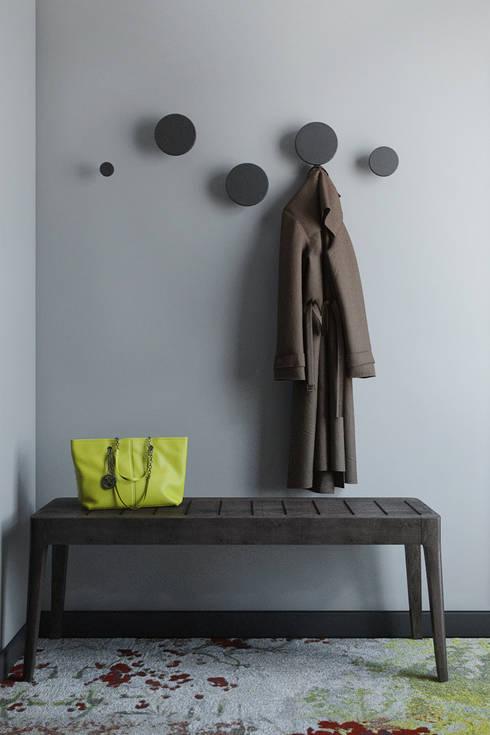 QUARTO STANDARD : Hotéis  por DZINE & CO, Arquitectura e Design de Interiores