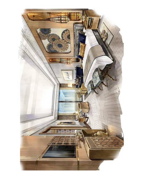 Hotel Rabbat: Quartos clássicos por Mdimension