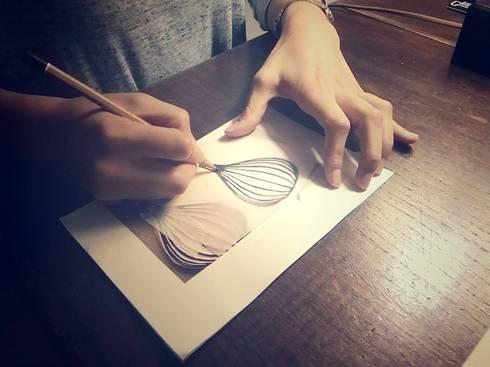 Workshop de carimbos! : Arte  por Pode Ser!