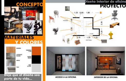 Concepto y desarrollo del proyecto: Oficinas y tiendas de estilo  por Constructora Asvial S.A de C.V.