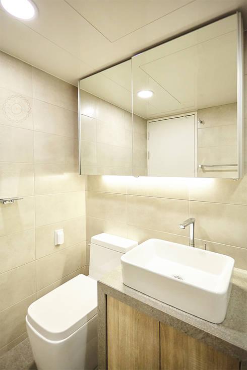 BATH ROOM 2: 제이앤예림design의  욕실