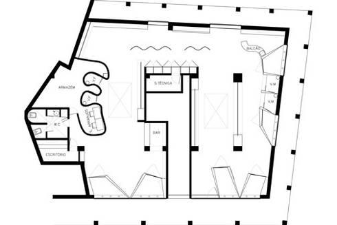 Loja IN!: Espaços comerciais  por mube arquitectura