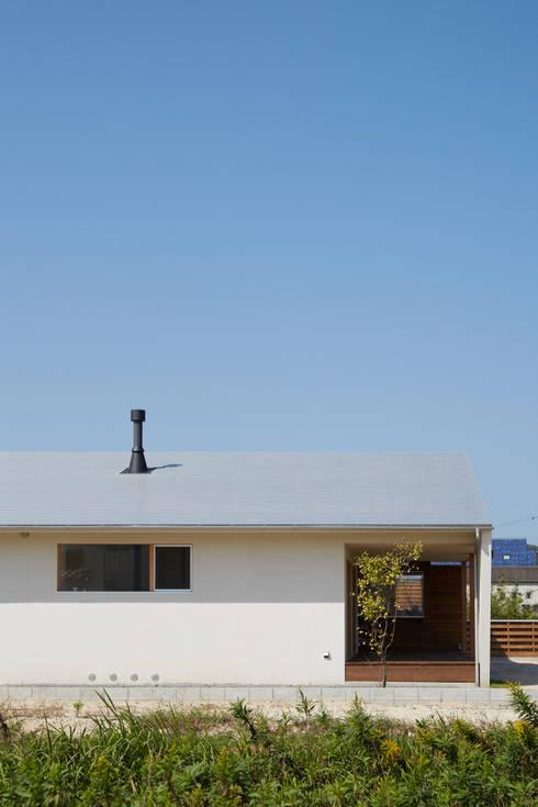 toki Architect design office의  주택