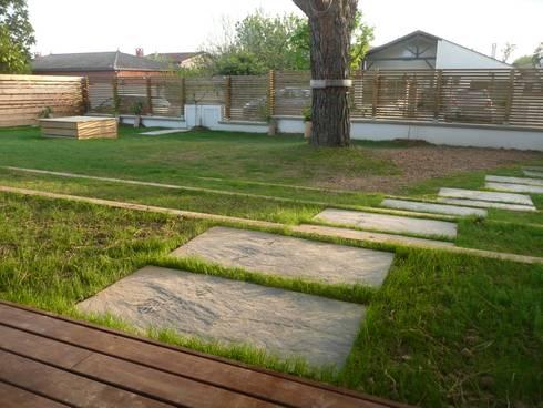 jardin de traverses par constans paysage homify. Black Bedroom Furniture Sets. Home Design Ideas