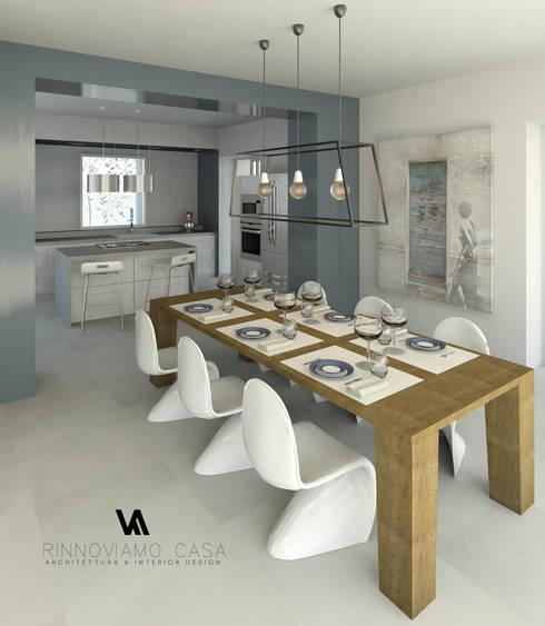 Progetto appartamento su due piani a napoli di rinnoviamo for Progetto appartamento moderno