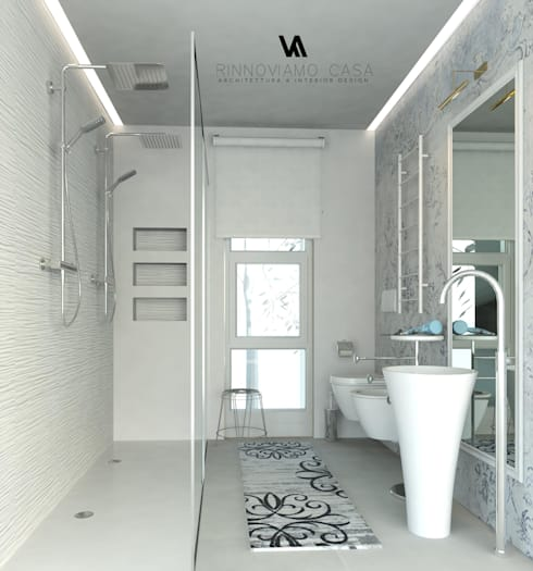 Progetto appartamento su due piani a napoli di rinnoviamo for Piani di casa spiaggia stile ghiaia