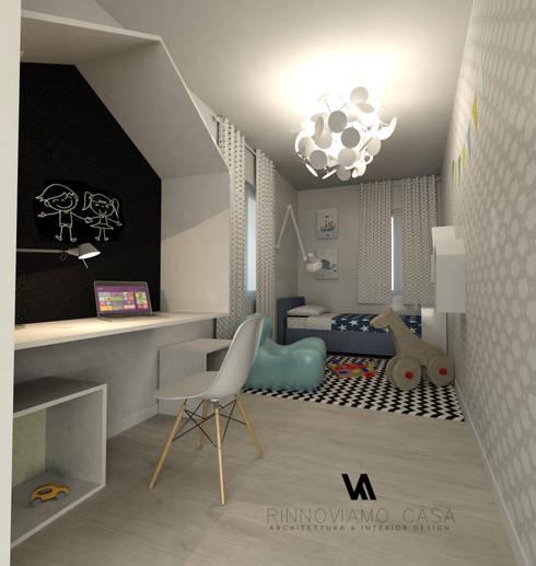 Progetto appartamento su due piani a napoli di rinnoviamo for Piani di casa con stanza della torre
