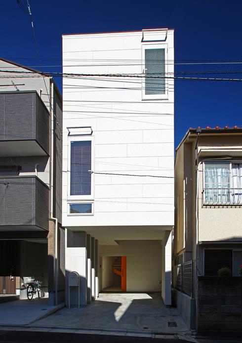 アトリエハコ建築設計事務所/atelier HAKO architects의  주택