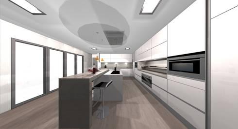 areadesign interiores: Cozinha  por area design interiores