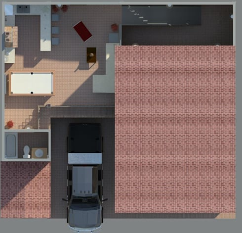 Área de recreacion: Casas de estilo moderno por Diseño Store
