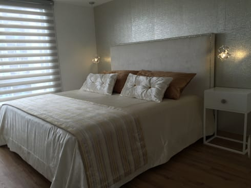 Habitaciones : Habitaciones de estilo minimalista por ea interiorismo