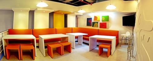 Local De Taquito: Oficinas y tiendas de estilo  por Arquitectura Visual