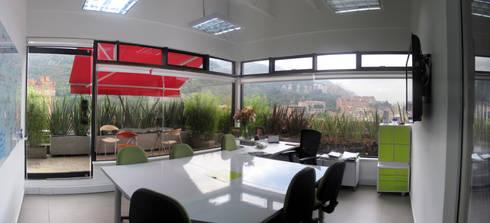 Oficinas Phd: Oficinas y tiendas de estilo  por Arquitectura Visual