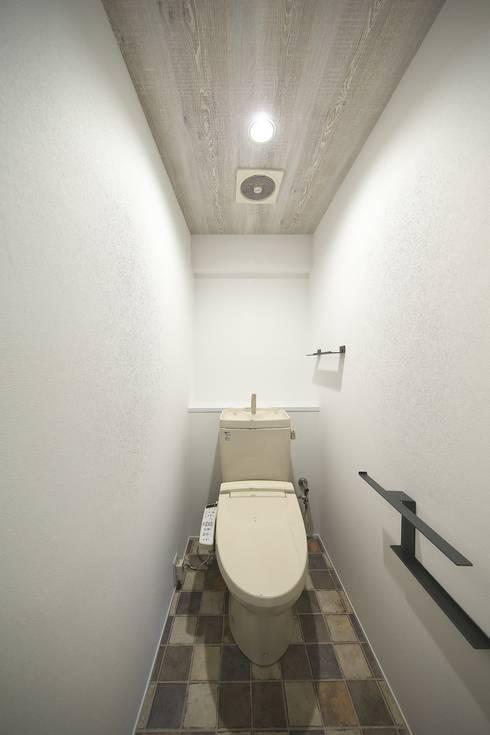 WC | 工事後: FRCHIS,WORKSが手掛けた浴室です。