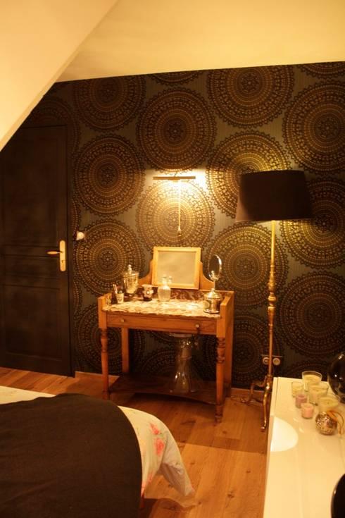 Transformation d'une chambre d'enfant en chambre parentale : Chambre de style de style Moderne par Liza Badet _ Architecte d'intérieur
