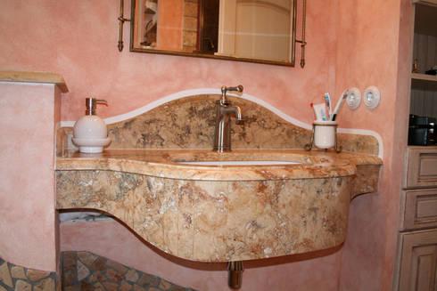 Villa Medici Aschheim villa medici mediterranes bad creme rosé villa medici homify