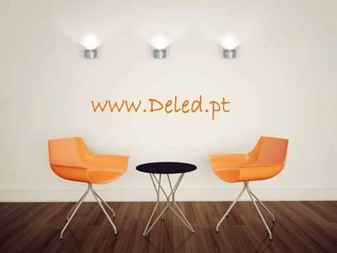 Deled: Salas de estar modernas por Espaço luz Lda.