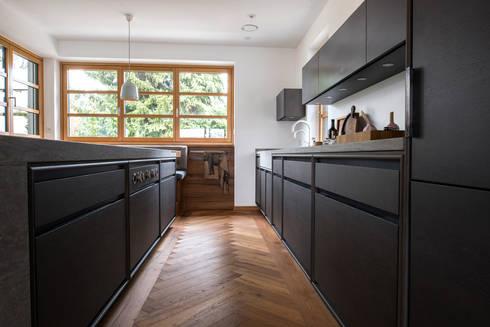 Schreinerküche schlichte eleganz werkhaus homify