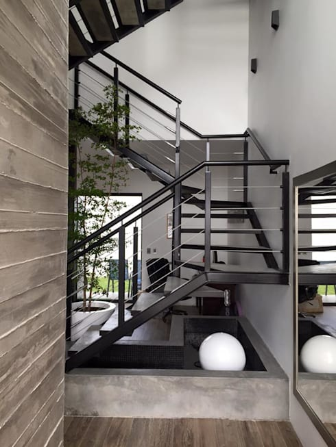 VALLE IMPERIAL: Pasillos y recibidores de estilo  por Arki3d