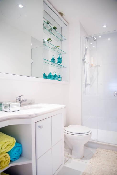浴室 by Studio Bene Arquitetura