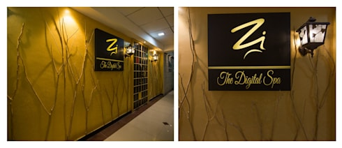 entrance :  Commercial Spaces by Ishita Joshi Designs - Love Living!