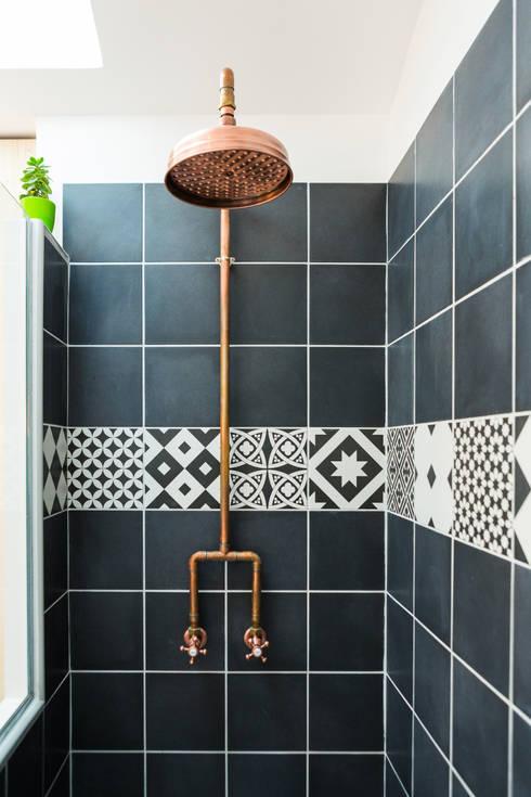 Projekty,  Łazienka zaprojektowane przez OSSACASA
