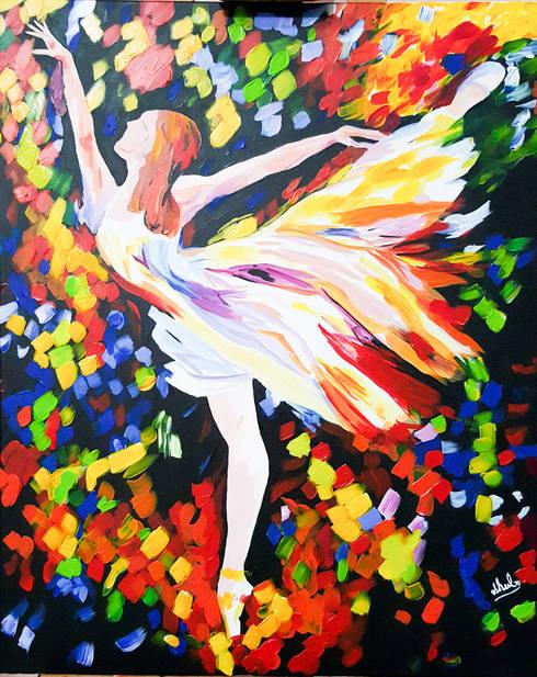BALLERINA:  Artwork by SHEEVIA  INTERIOR CONCEPTS