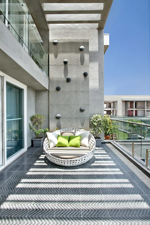 Terrace by Dipen Gada & Associates