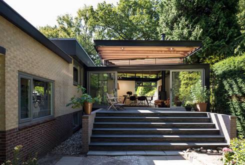 Aanbouw villa baarn door luijk architecten homify