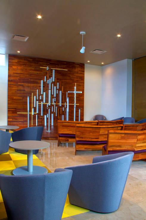Arriaga : Salas de estilo moderno por DIN Interiorismo