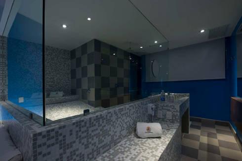 Hotel Montreal : Baños de estilo  por DIN Interiorismo