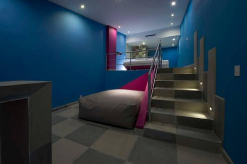 Hotel Montreal : Recámaras de estilo moderno por DIN Interiorismo