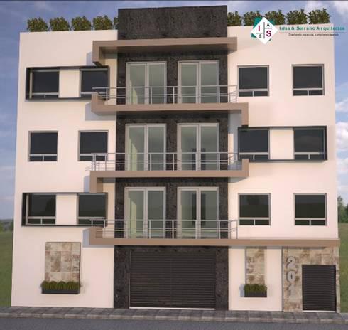 Condominio JK: Casas de estilo moderno por ISLAS & SERRANO ARQUITECTOS